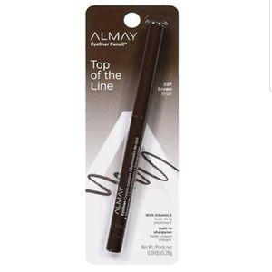 NIP Almay Top of the Line Eyeliner Pencil In Brown